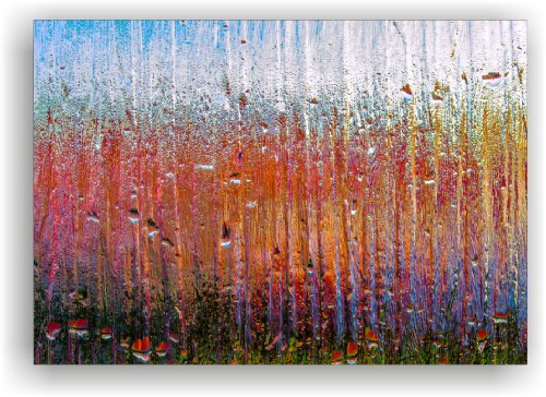 Kunstdruck auf Leinwand Bild Keilrahmenbild Leinwanddruck Wandbild 100x70cm fertig aufgespannt. (kein Poster oder Fototapete)