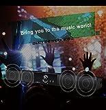 LONPOO Designer Soundbar Lautsprecher-10W Stereo Lautsprecher Speaker Für Small TV und PC/ Smartphone -