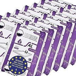 Pack de 350 Kg (14 sacos de 25 kg.) ENISAL Sal Especial Piscinas – Cumple con la norma europea EN 16401/A (Sal Calidad A para piscinas de electrólisis Salina)