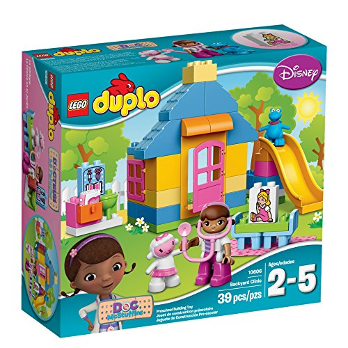 Preisvergleich Produktbild LEGO DUPLO Brand Disney 10606 Doc McStuffins Backyard Clinic Building Kit