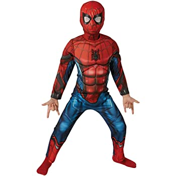 Rubie s-déguisement officiel - Spiderman - Déguisement luxe Spiderman  Homecoming- Taille S- I 1748be2b9e7d
