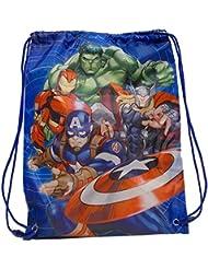 Marvel Vengadores PE gimnasio deporte bolsa de natación producto oficial licensd. 43x 32cm