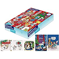 Battersea Dogs & Cat Home Charity Christmas Cards - Box of 20