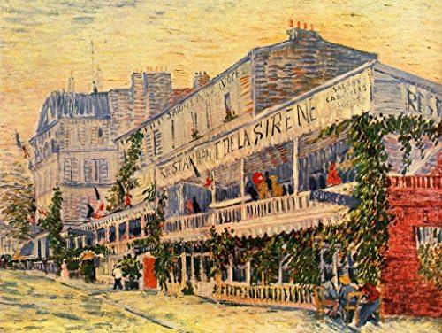 Lais Puzzle Puzzle Puzzle Vincent Willem Van Gogh - Le Restaurant de la Sirene à Asnières 1000 Pieces | La Qualité Et La Quantité Assurée  7a774a