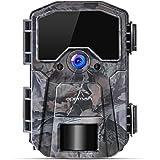 APEMAN Cámara de Caza 20MP 1080P Cámara de vigilància de la Vida Silvestre,Cámara de Juego de detección Nocturna sin LED de B