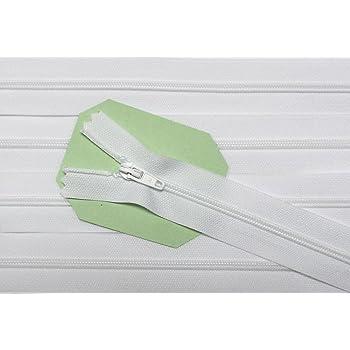 Reißverschluß Für Bettwäsche Kunststoff Nicht Teilbar 155 Cm Weiß