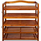 Shoe Storage Rack Wooden Tropical Acacia Storing Cabinet - Best Reviews Guide