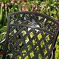 2 x Rose Metall Gartenstuhl von Lazy Susan Furniture - Gartenmöbel von Du und Dein Garten