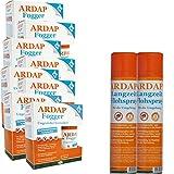 ARDAP Set 2 x 400 ml Flohspray + 12 x 100 ml Fogger gegen Flöhe und Ungeziefer