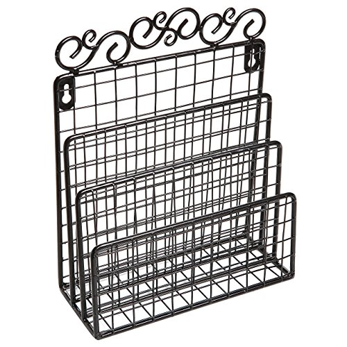 dekorativer-aufbewahrungskorb-rankenwerk-design-schwarz-metalldraht