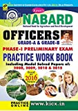 NABARD Officers Grade-A & Grade-B Online Exam Practice Work Book - 1638