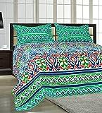 #5: Salona Bichona 100% Cotton (Extra Large) King Size Bedsheet Set.