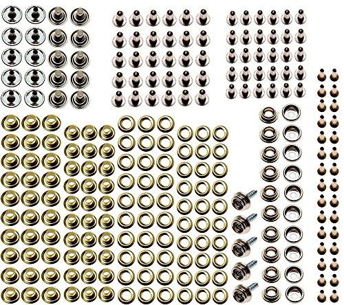 Bgs Assortiment de œillets Bouton Pression de, 195 pièces, 572–1