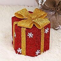 KYWBD Caja decoración,Caja de Regalo de decoración de árbol de Navidad-C
