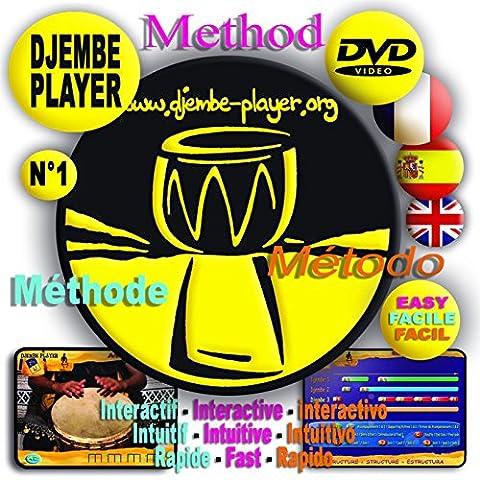 Djembé Player méthode DVD Djembe Player, le professeur de djembe à domicile