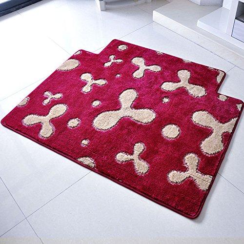 Antiscivolo Dirty Carpet Porta Porta Porta Porta Pad Bagno riscaldatore di acqua antiscivolo Pad Matsroom (Foto Nero Doppio Mat)