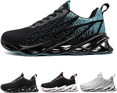 Uomo Moda Scarpe da Ginnastica Corsa Sportive Sneakers Running Fitness Casual Trainers 40-47