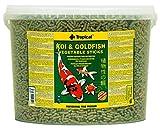 Tropical Koi und Goldfisch Vegetable Sticks, 1er Pack (1 x 5 l)