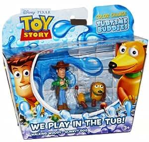 Toy Story - X1534 - Coffret 2 Mini Figurines - Color Splash - Woody et Razmot