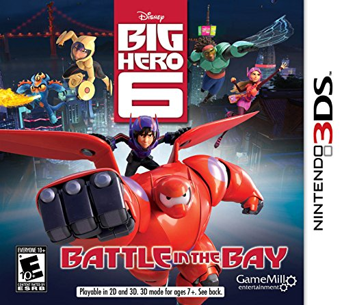 Big Hero 6 3DS - Nintendo 3DS by Game Mill