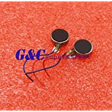 Alcoa Prime 50PCS Coin Flat Vibrating Micro Motor DC 3V 8mm For Pager and Cell Phone Mobile