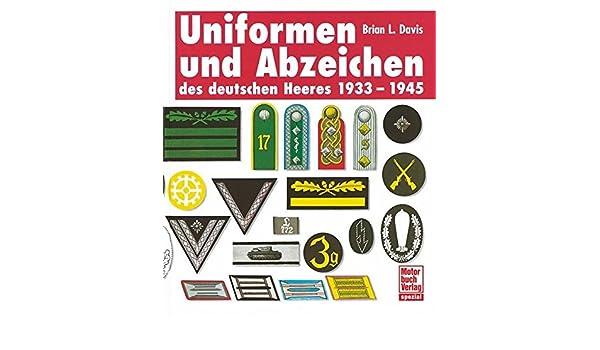 Die Deutsche Wehrmacht Dienstgrade Laufbahnabzeichen Heer Uniformen Buch Henner