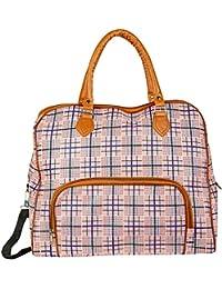 "Shopigator Luggage Travel Duffle Or Multi Purpose Utility Printed Bag, Designer Print Bag For Women (17"" X 15""..."