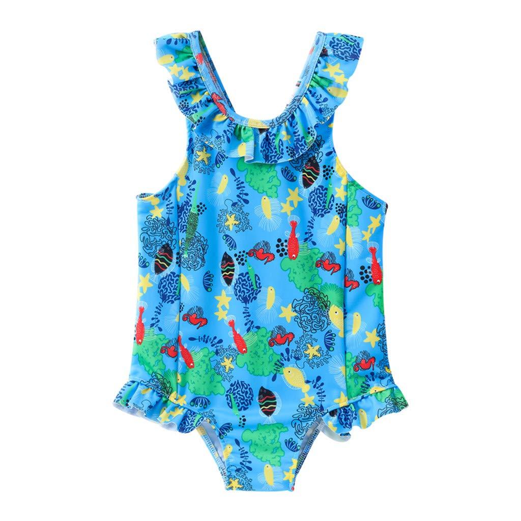 Il miglior posto negozio del Regno Unito comprare nuovo FRAUIT Costumi Interi Ragazza Brasiliana 1 Anni - 6 Anni Costume Intero  Bambina Piscina Bikini da Nuoto Trikini Donna Mare Swimwear Swimsuit Bimbo  ...