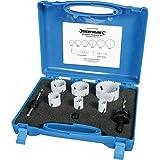 Silverline 273220 Bi-metaal-gatzagen voor elektriciens, 9-delig set 18-51 mm diameter