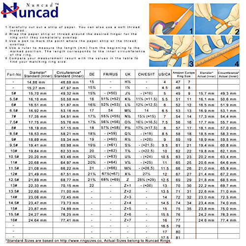 61h05Y1%2BQcL - NUNCAD Anillo Hombre/Mujer 4 mm con Opale Multicolore de tungsteno, Boda Compromiso Estilo, Ocio, tamaño 14 (CH: ≈ 15)