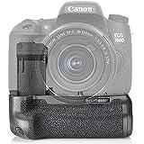 Neewer® NW-760D Empuñadura reemplazo para BG- e18 funciona con LP-E17 batería para Canon EOS 750D / T6i, 760D/T6S