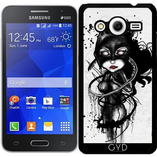 DesignedByIndependentArtists Hülle für Samsung Galaxy Core 2 SM-G355 - Krallen Lynx by Rouble ()