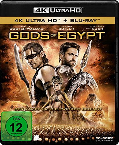 Gods Of Egypt - Ultra HD Blu-ray [4k + Blu-ray Disc]