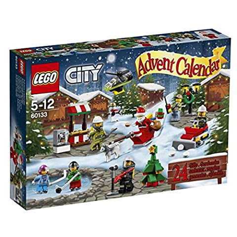 Lego Calendrier - LEGO - 60133 - City - Jeu