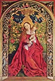 Das Museum Outlet – Madonna in rose garden. 1473 – A3 Poster
