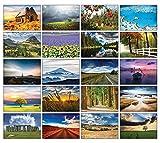 Landschaften Postkarten - 20 verschiedene Postkarten