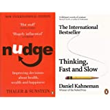 Nudge + Thinking Fast and Slow(Set of 2 Books)