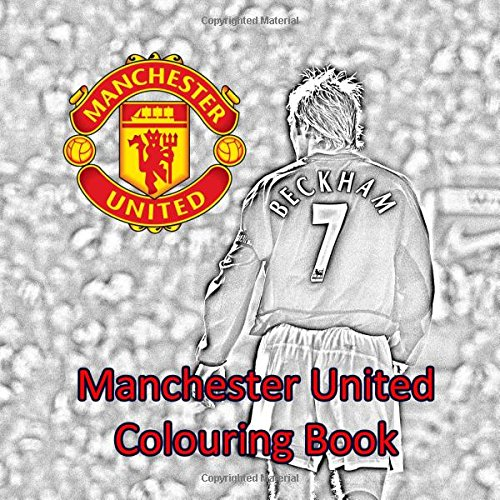 Manchester United Colouring Book