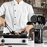 Küchenhelfer Set Silikon von Godmorn 8+1 Teile