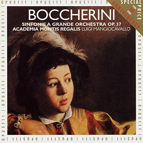 Sinfonia No. 1 in C Major, Op. 37, G. 515: II. Menuetto: Con un poco di moto