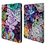 Head Case Designs Offizielle Mai Autumn Saftig Blumiger Garten Brieftasche Handyhülle aus Leder für iPad Air 2 (2014)