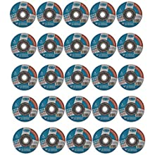 tyrolit 34332873 Basic 2in1 dischi di taglio, 41, a46q-bfb, Nuovo, 125 x 1.6 x 22.23 mm dimensioni, Confezione da 25