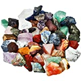 Shanxing Mischung Steine Rohsteine Edelsteine Wassersteine Dekoration Stein für Reiki