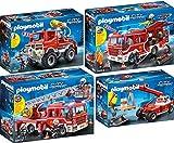 PLAYMOBIL 9463-64-65-66 Feuerwehr Set 2 - 4er Set 9463 + 9464 + 9465 + 9466