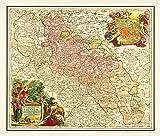 Historische Karte: Schlesien, 1724 (Plano) -