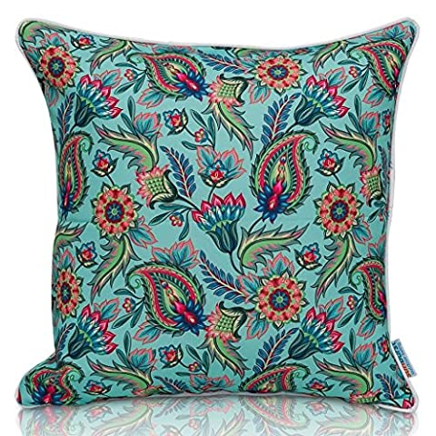 Sunburst Outdoor Living 50cm x 50cm (With Piping) POWERFUL Paisley