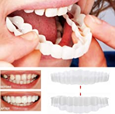 Holeider Perfect Sofort Smile Zahnersatz Komfort Fit Flex Comfort Kosmetische Zähne Prothese Zähne Top Bottom Kosmetische Furnier Zahnfurnier Simulationsklammern Zahnmedizinische Schönheit