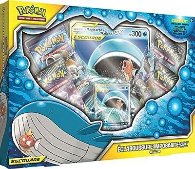 Pokemon Coffret Eclaboussure Imposante-GX Escouade, POSLJAN19, Cartes à Collextionner