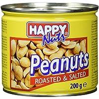 Happy Nuts Erdnüsse geröstet und gesalzen, 200 g