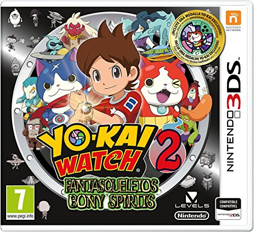 Yo-Kai Watch 2: Knochige Gespenster + Medal - Special Limited Edition [Nintendo 3DS]